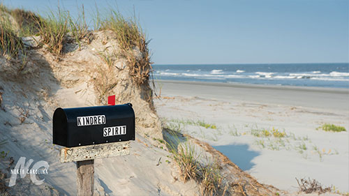 Kindred Spirit Mailbox on Bird Island